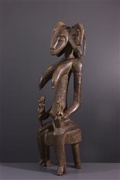 Statues africainesMaternité Senufo
