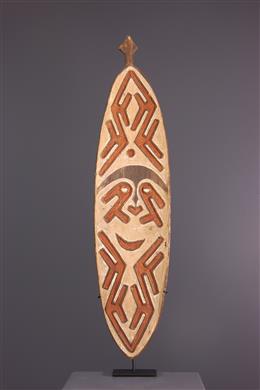 Planche votive Gope Papouasie - Nouvelle Guinée
