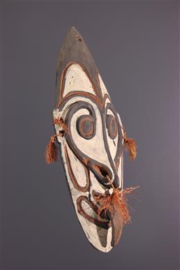 Masque d ancêtre Sepik Nouvelle-Guinée