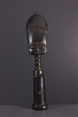 Statue poupée de fécondité Akua  ba Fante