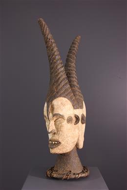 Masque cimier janiforme Idoma Ungulali