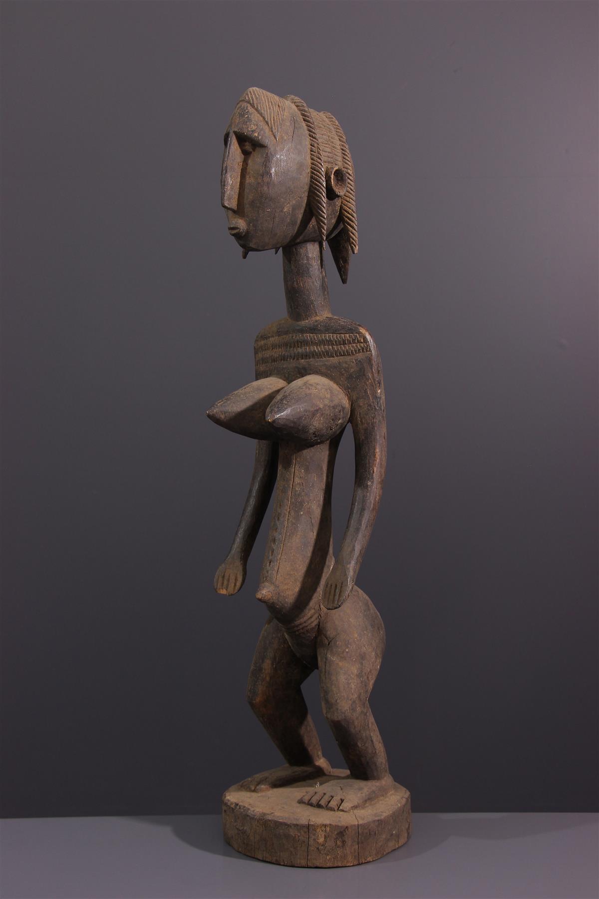 Statue Dyonyeni - Art africain