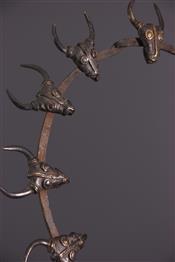 bronze africainCollier Bamileke