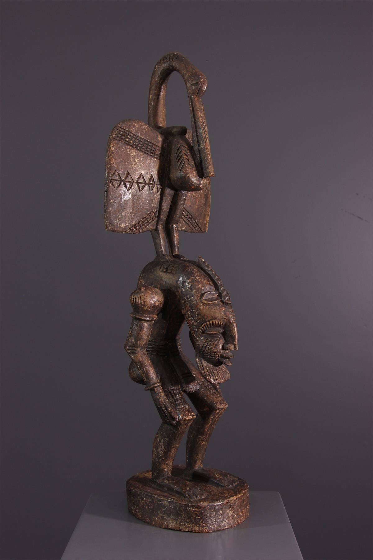 Statue Côte d'Ivoire - Art africain