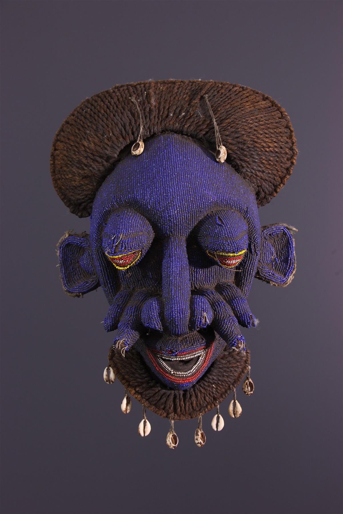 Masque Bamoun - Art africain