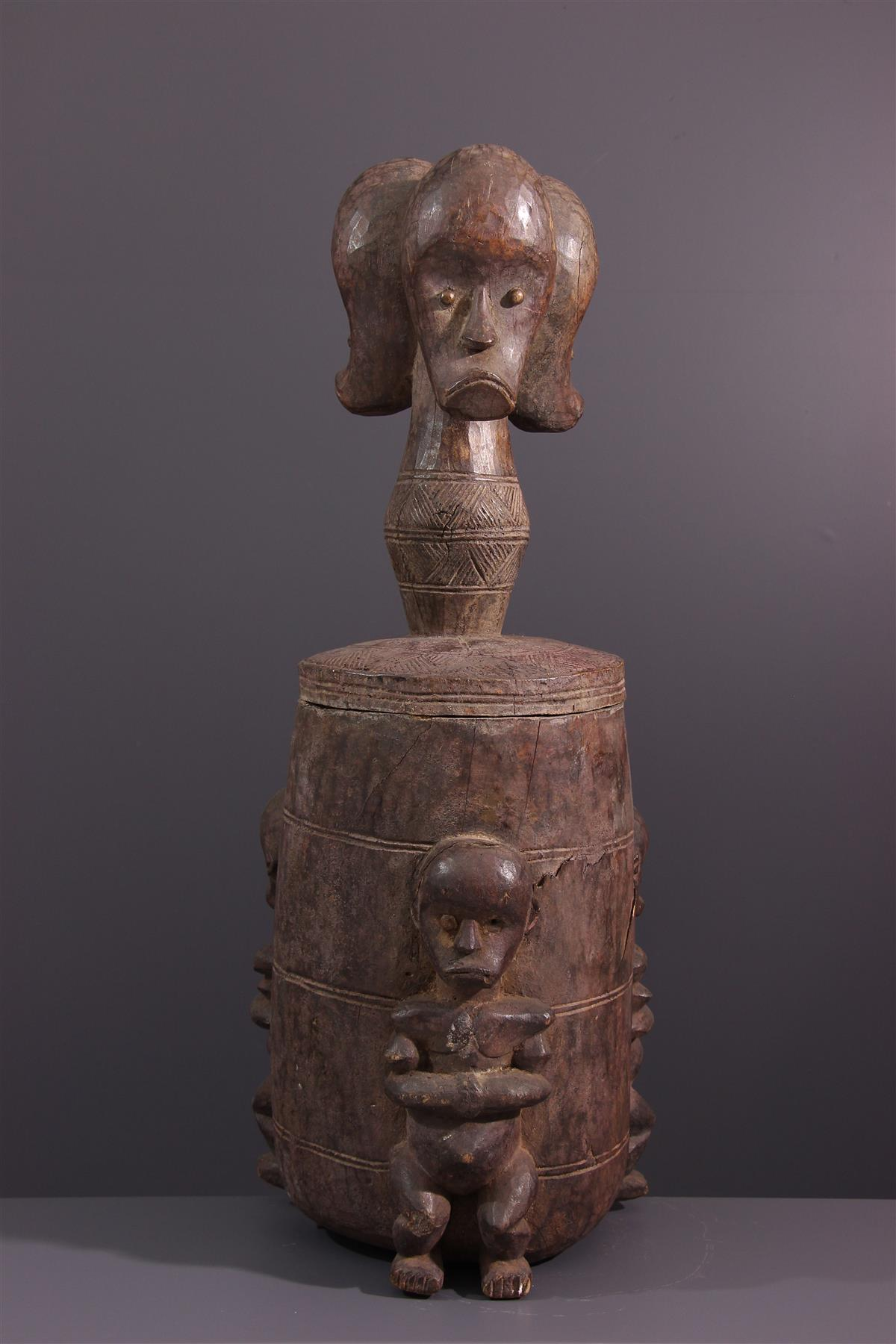 Boite Fang - Art africain