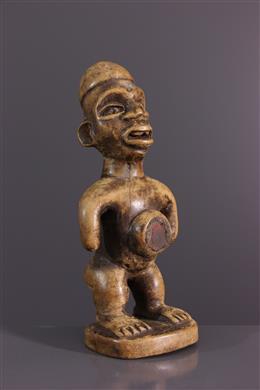 Art africain - Statuette Nkishi fétiche Kongo Yombe