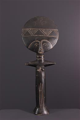 Art africain - Poupée de fécondité Akuaba Ashanti