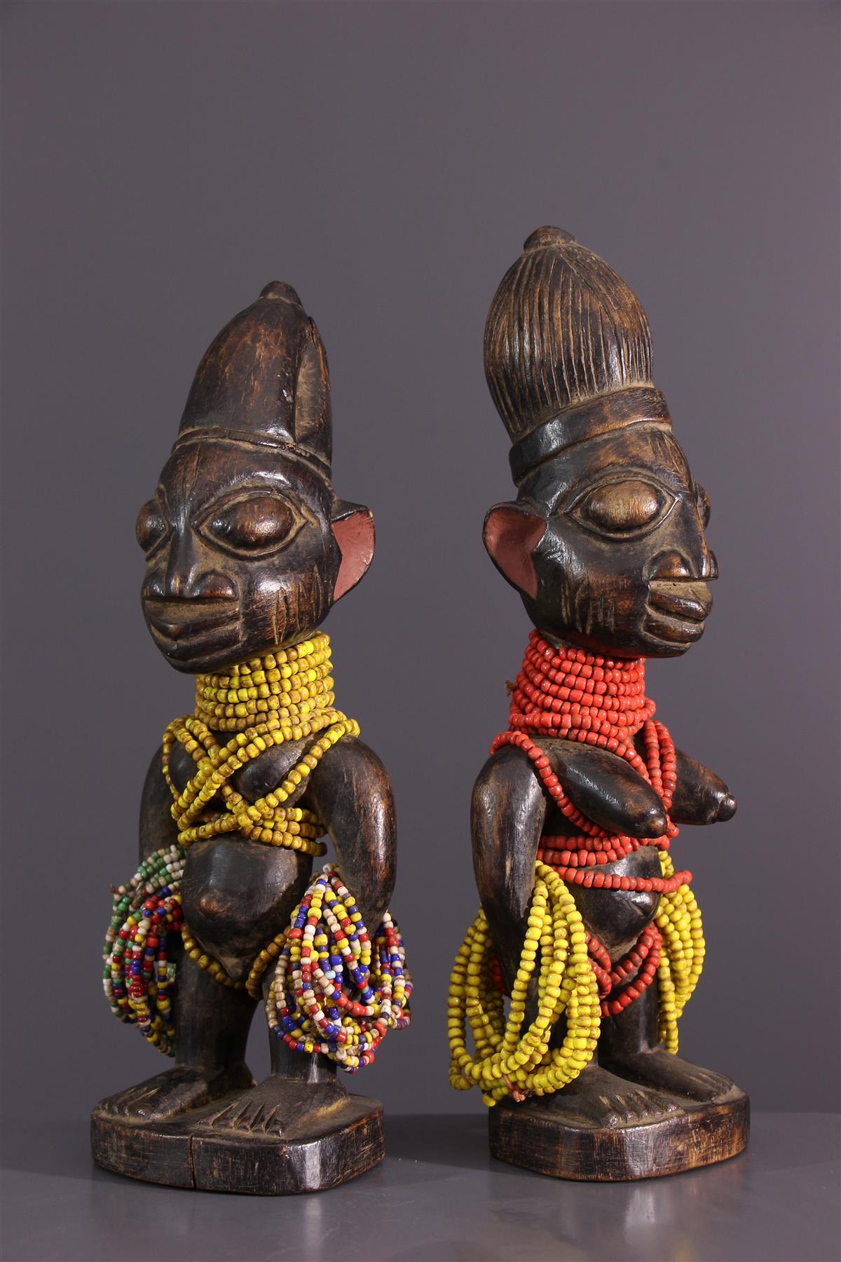 Statues Ibedji - Art africain