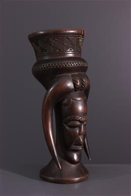 Art africain - Coupe à boire royale Kuba