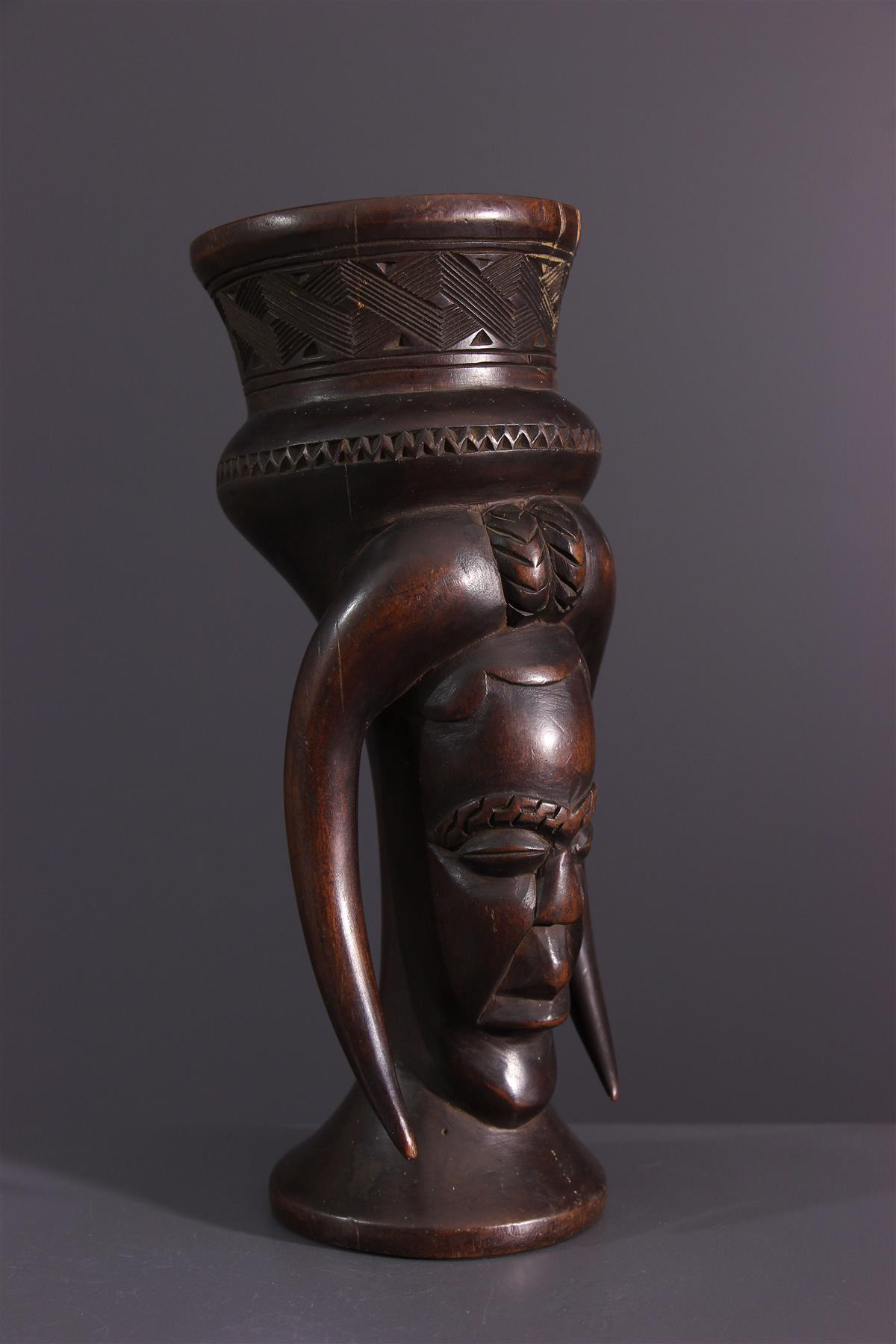 Coupe Kuba - Art africain