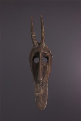 Masque facial antilope Bambara