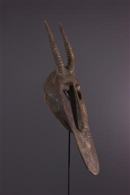 Masque facial antilope Bambara