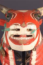 Masque africainMasque Bidjogo Guinée