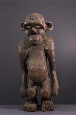 Art africain - Figure zoomorphe Boulou