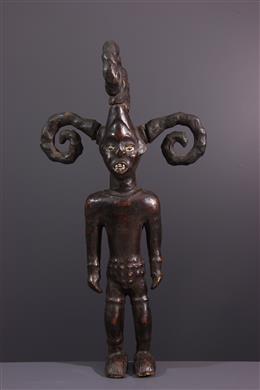Art africain - Figure masculine Ejagham