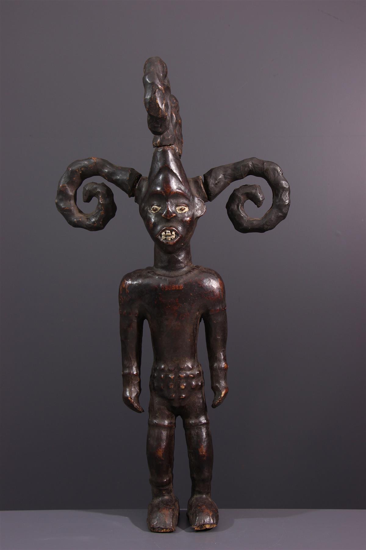 Statue Ejagham - Art africain