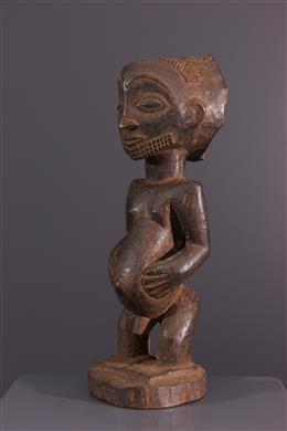 Art africain - Statue dancêtre Hemba Singiti