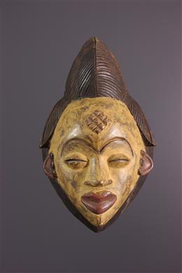 Grand masque Punu du Gabon