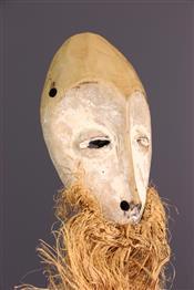 Masque africainMasquette Lega