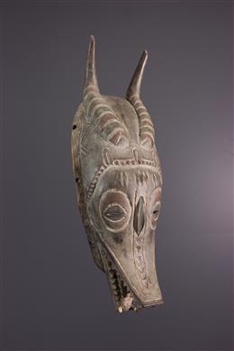 Masque Zamble - Art africain