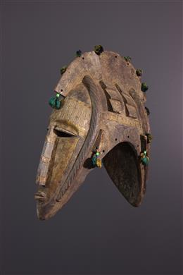 Masque heaume Markha janiforme