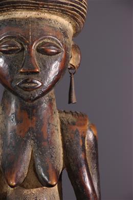 Figure féminine Cisola Chokwe, Tshokwe