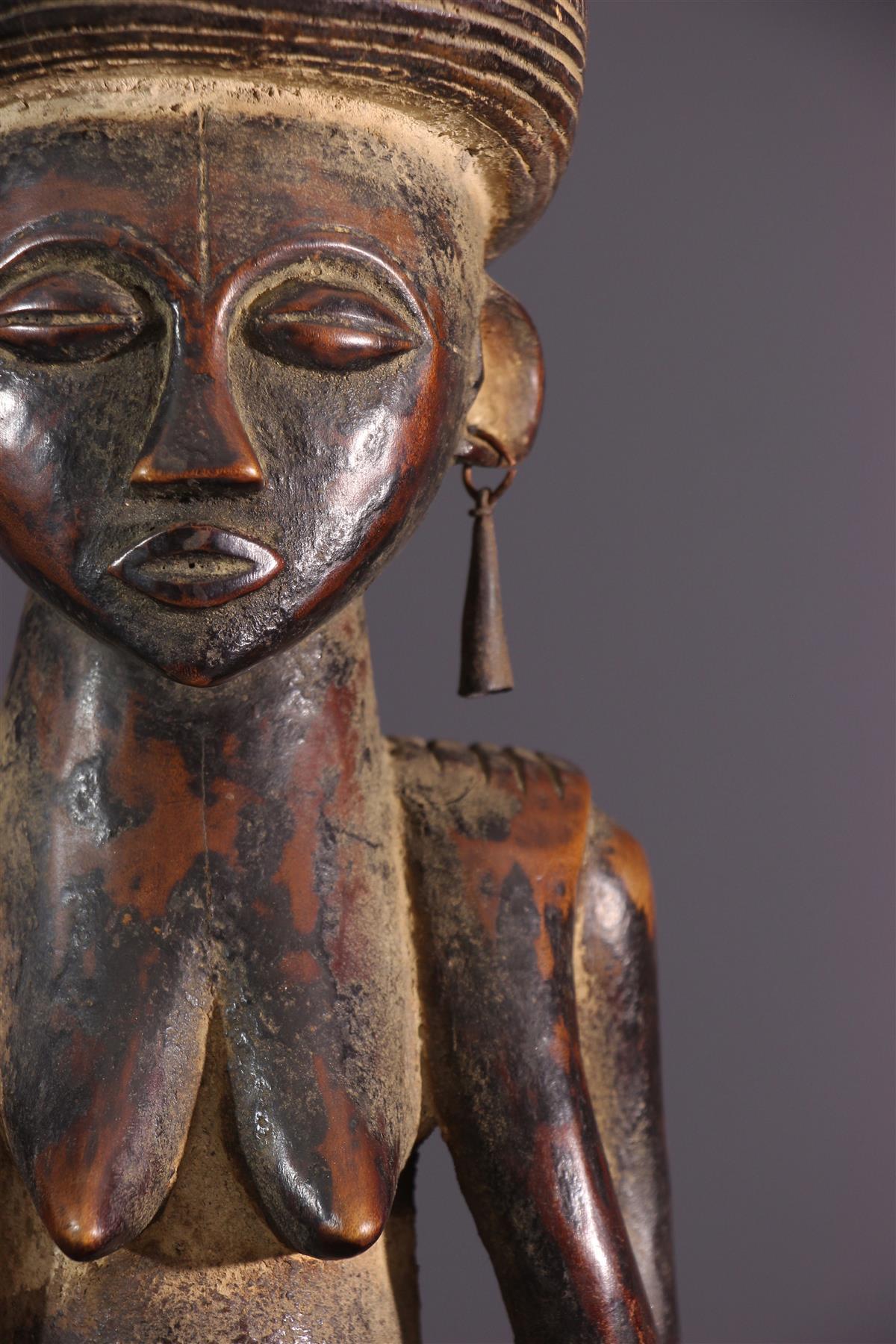 Statue Tchokwe - Art africain