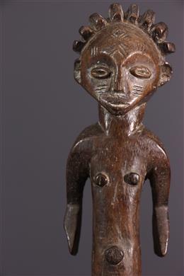 Statuette féminine Ngbaka Nabo