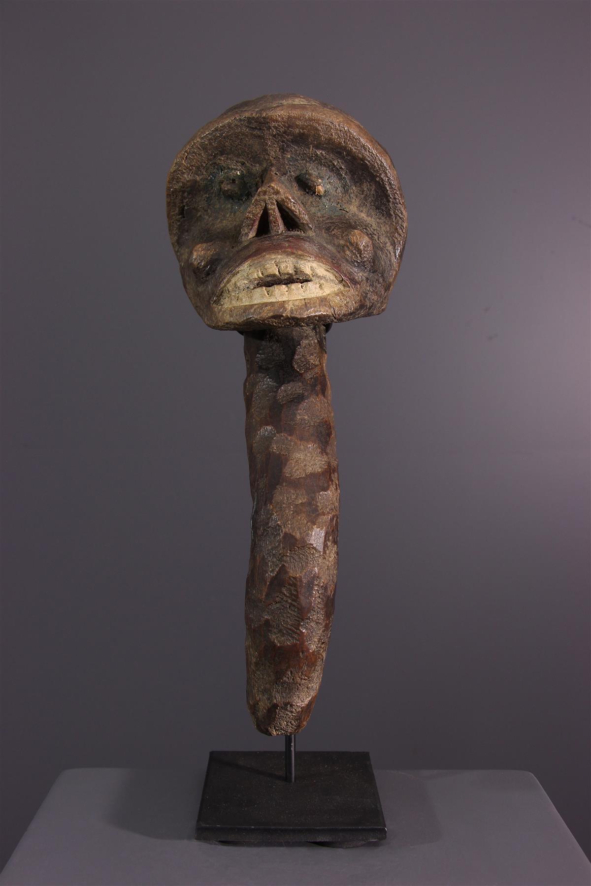 Tête Boulou - Art africain