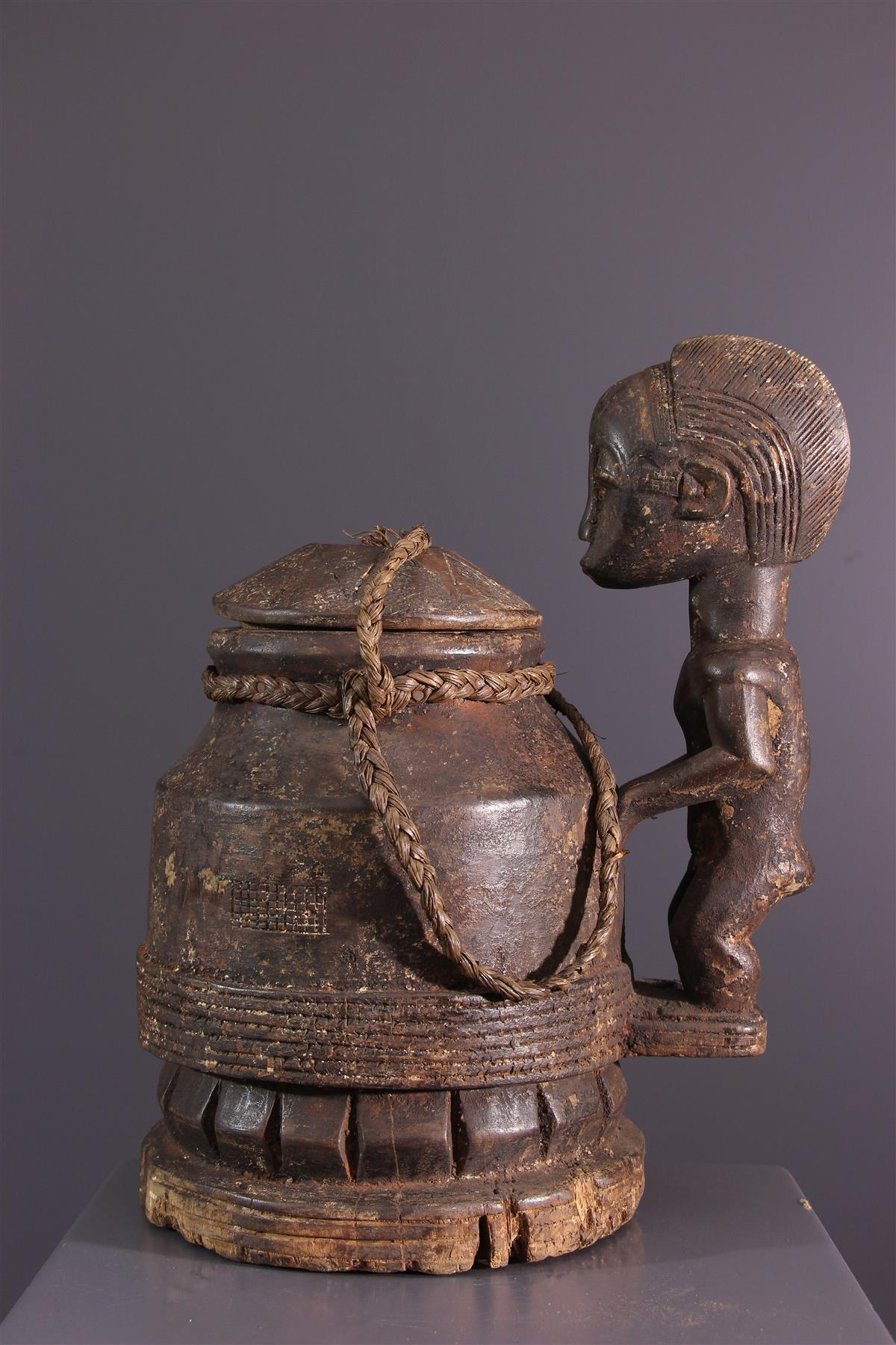 Boîte à souris Baoule - Art africain