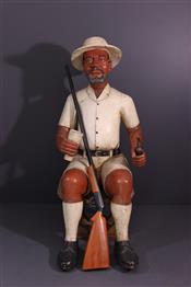 Statues africainesColon Baulé