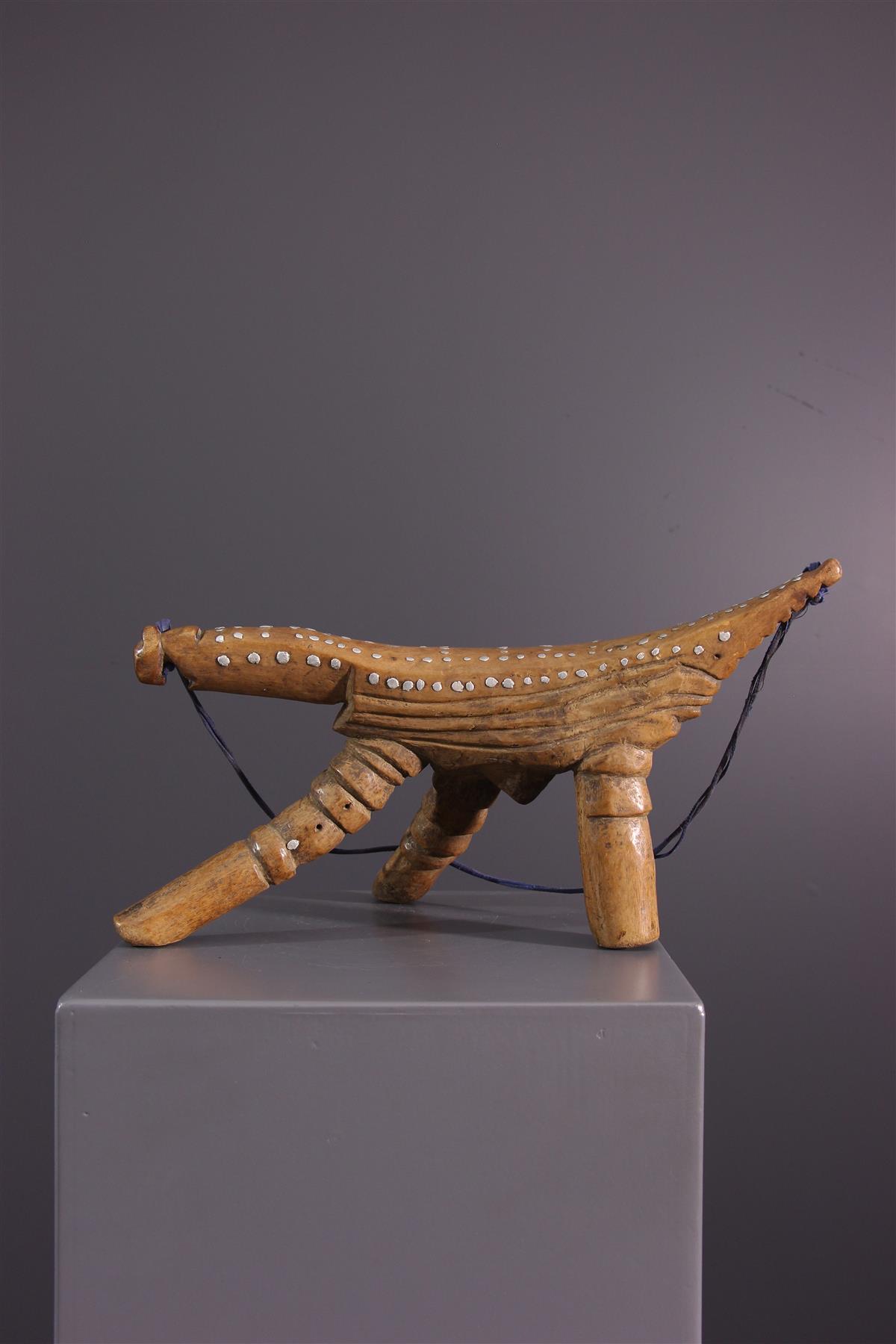 Tabouret Dinka - Art africain