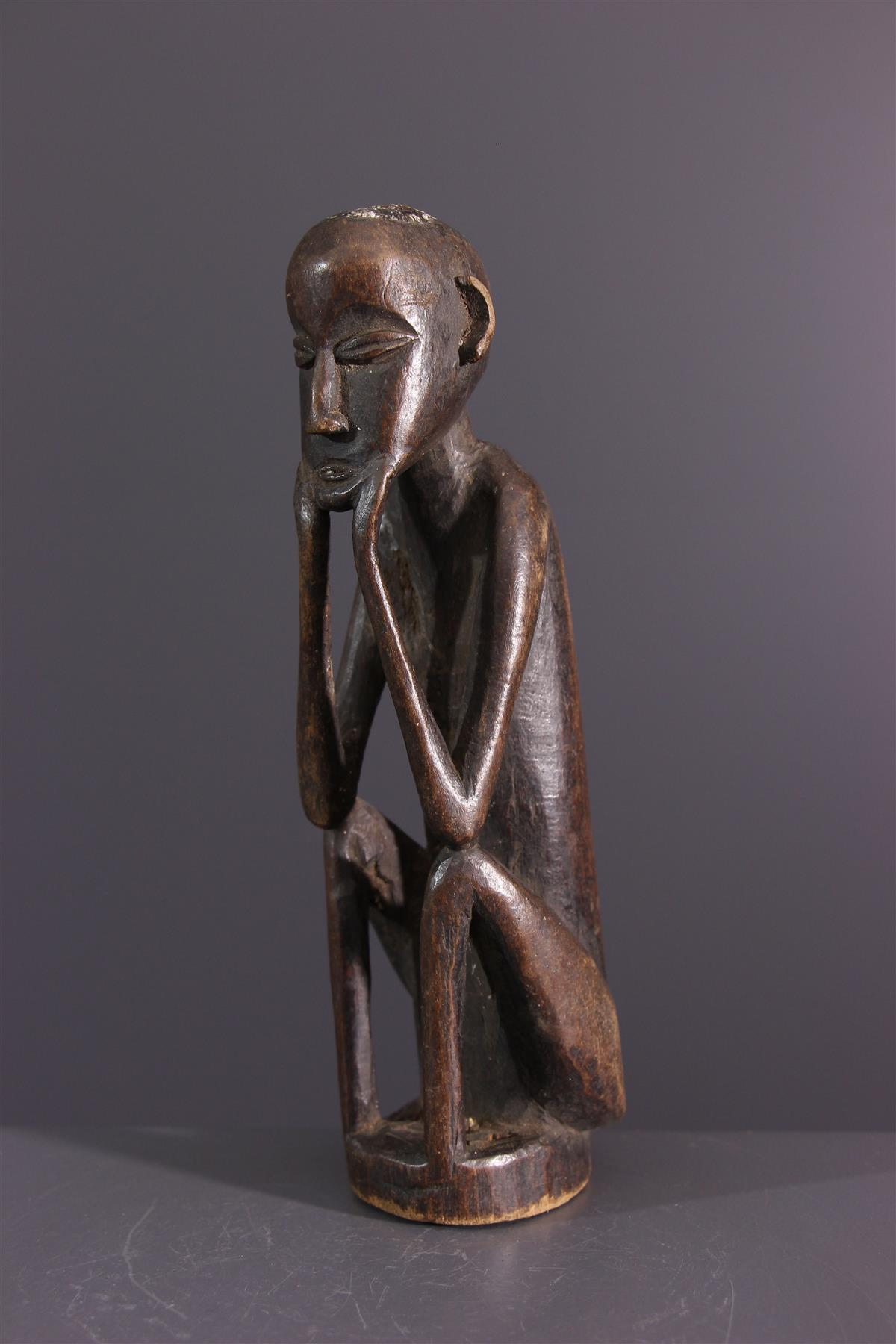 Fétiche Luba - Art africain