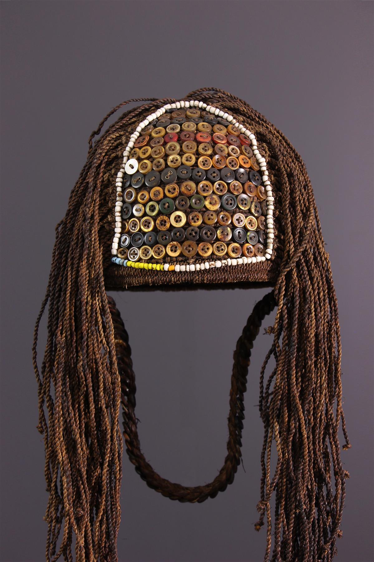 Chapeau Lega - Art africain