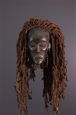 Art africain - Masque féminin Mwana Pwo - Chokwe - Angola