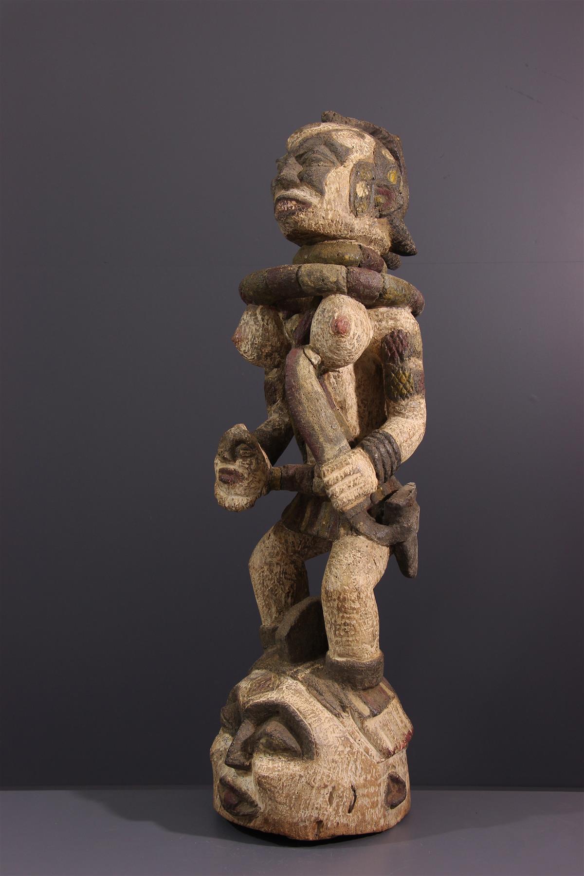 Cimier Igbo - Art africain