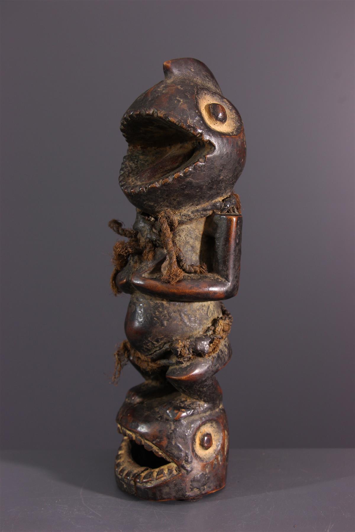 Fétiche Mambila - Art africain