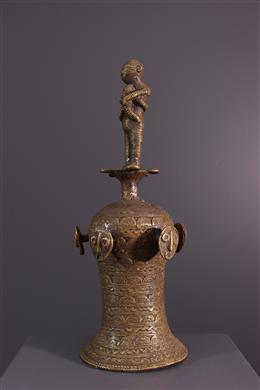 Cloche rituelle Tikar