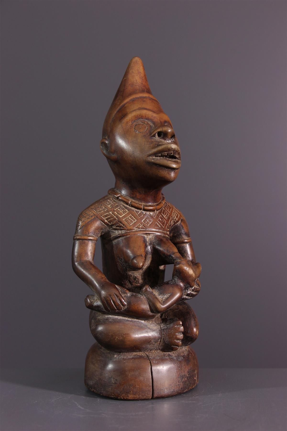 Statue Pfemba - Art africain