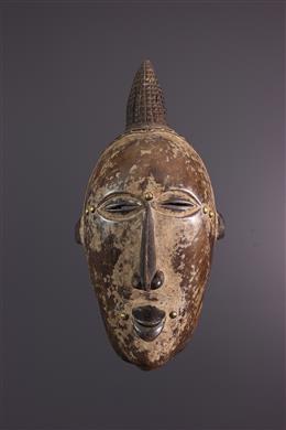 Masque africain Bété Gouro