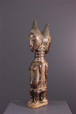 Art africain - Statue janiforme Agni