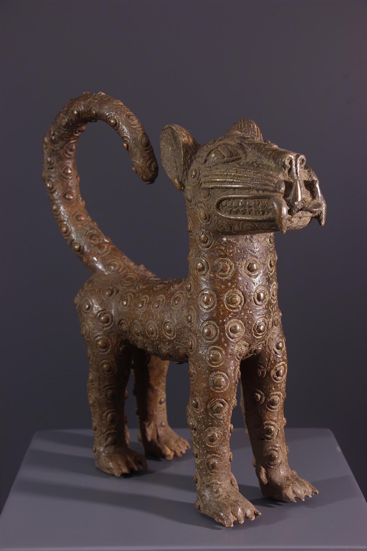 Leopard Benin - Art africain