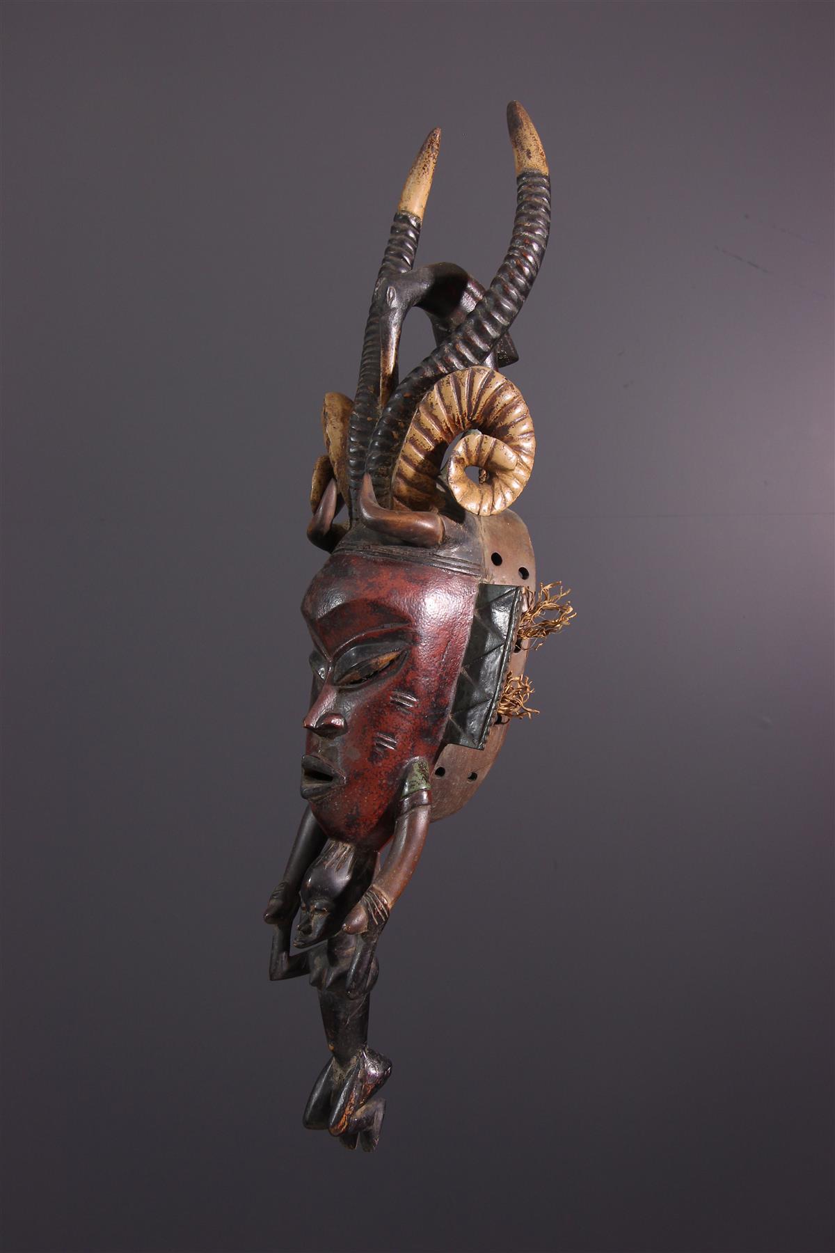 Masque Gu - Art africain