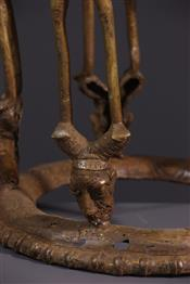 Tabourets, chaises, trônesSiège Tikar