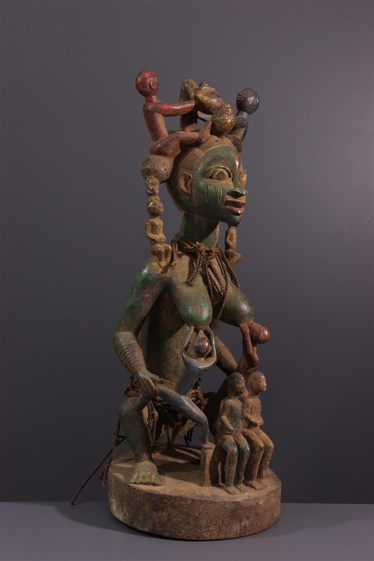 Maternité Yoruba - Art africain