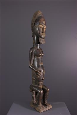 Art africain - Statue Baule Asie usu