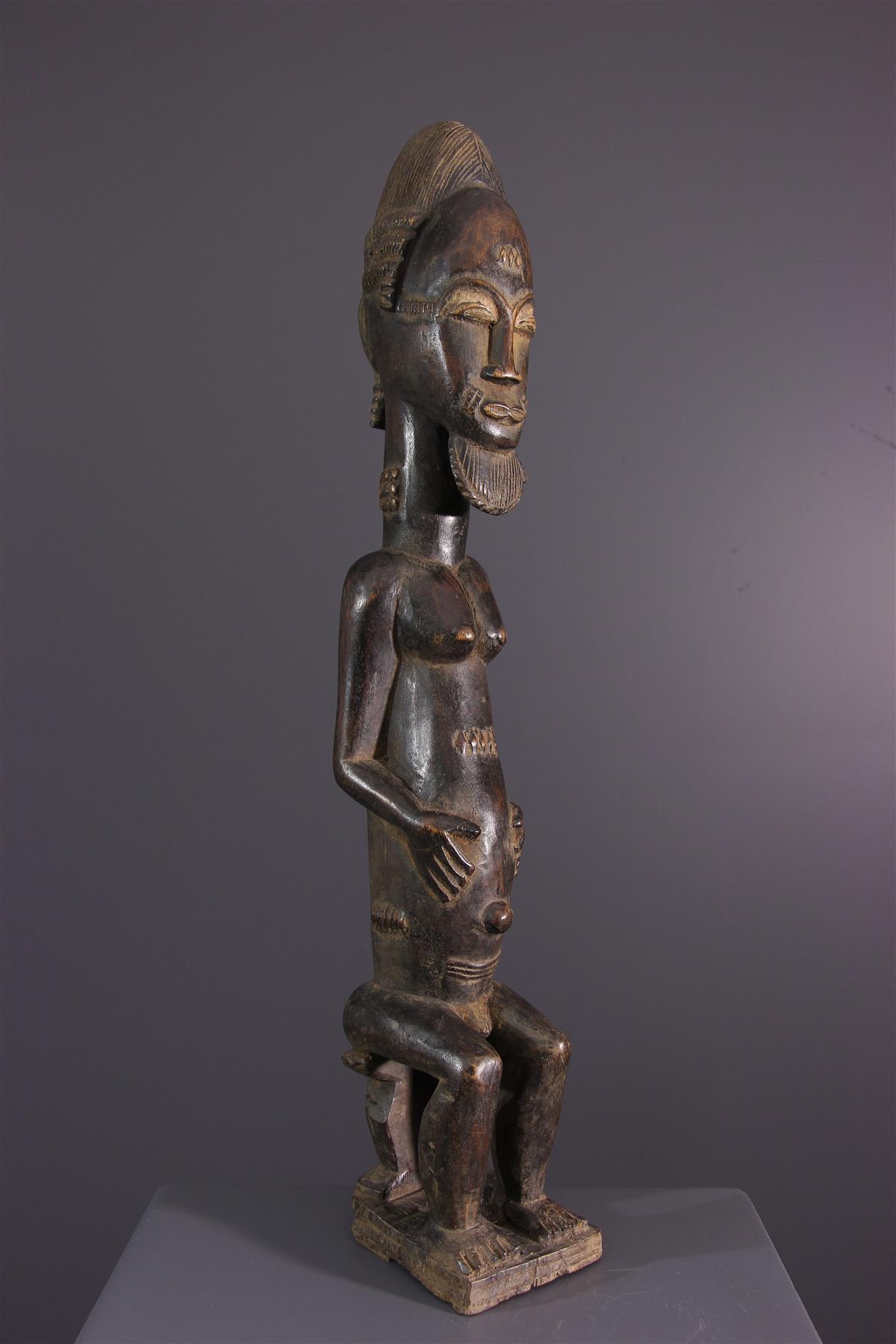 Ancêtre Baoulé - Art africain