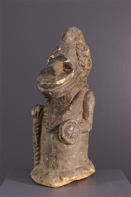 Statue Pombo Sapi Kissi en pierre
