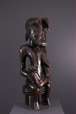 Art africain - Statue de maternité Senoufo
